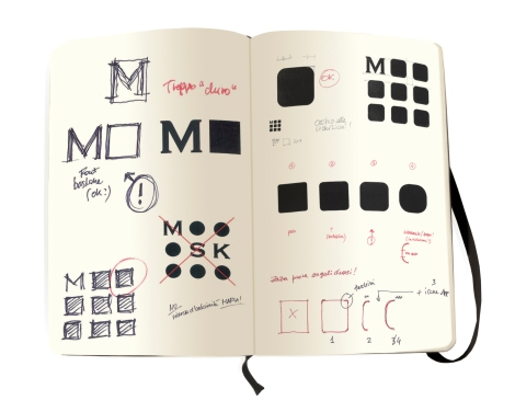 Moleskine Monogram Drafting