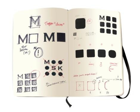 Moleskine Monogram Drafting
